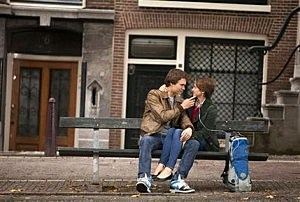 "Ansel Elgort, left, and Shailene Woodley appear in a scene from ""The Fault In Our Stars."""