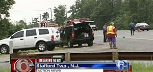 Fatal accident on the Garden State Parkway in Manahawkin
