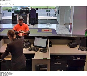 Suspect in Monroe bank robbery