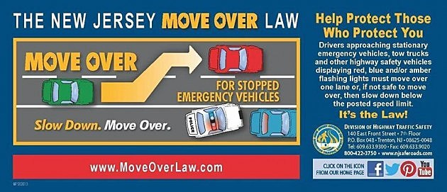New Jersey's Move Over law explained