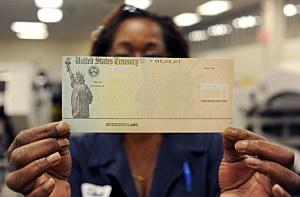 U.S Treasury Facility Prints Social Security Checks