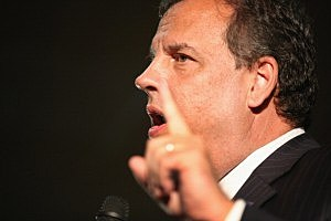 NJ Gov And RGA Chairman Chris Christie Appears With Iowa's Governor At Davenport Fairgrounds