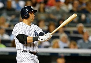 Carlos Beltran hits a grandslam in the sixth inning against the Cleveland Indians