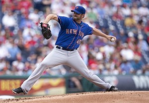 Pitcher Jonathon Niese #49 of the New York Mets
