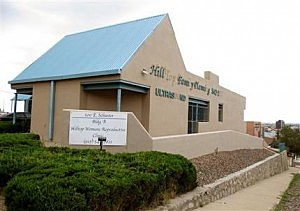 The Hilltop Women's Reproductive clinic in El Paso, Texas