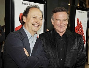 Billy Crystal and Robin Williams