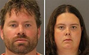 Stephan Howells II, 39, ,left, and Nicole Vaisey, 25