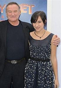 Robin Williams and Zelda Williams