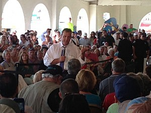 Governor Christie in Ocean City