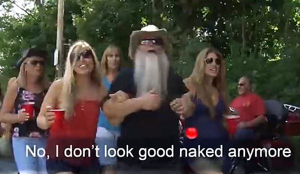 Watch Nj Band Records I Don T Look Good Naked Anymore Video