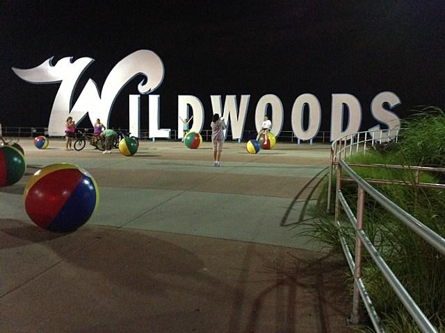 Wildwoods sign (Dino Flammia, Townsquare Media NJ)