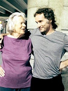 This image provided by the Curtis family shows Nancy Curtis, left, and her son, Peter Theo Curtis, right, in Boston