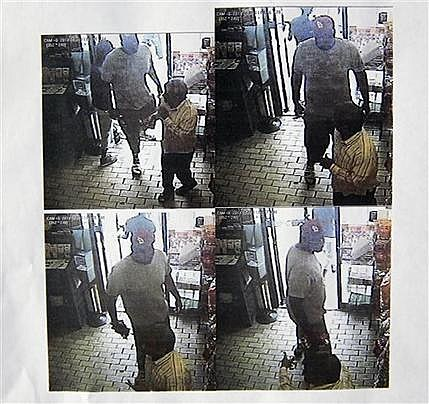 Security camera footage from a convenience store in Ferguson, Mo., on Aug. 9, 2014, the day that Michael Brown was fatally shot by a police officer.