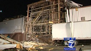 Aftermath of an explosion at Pharmachem Laboratories in Totowa