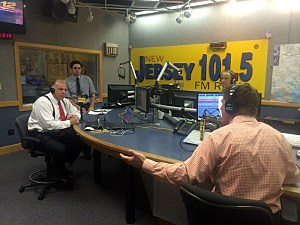 Senate President Steve Sweeney in-studio with Eric Scott