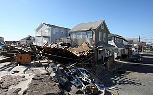 Sandy Damage in Seaside Park (November 12, 2012)