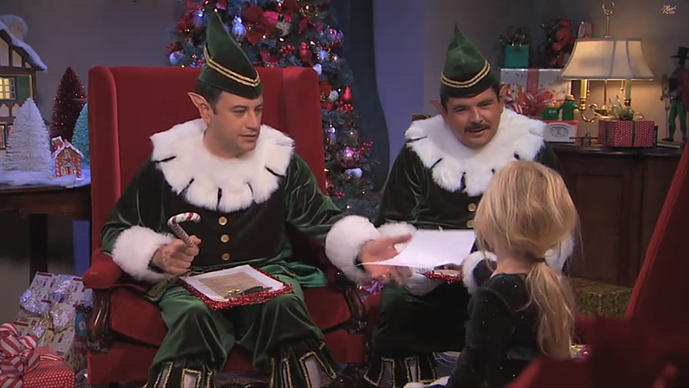 SEE IT: Jimmy Kimmel and Guillermo Naughty or Nice List