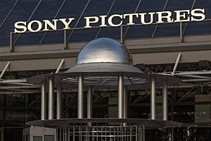 Sony Pictures Plaza building in Culver City, Calif