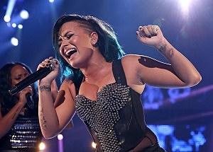 Recording artist Demi Lovato