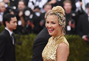 Kate Hudson at the Metropolitan Museum of Art on May 4, 2015 in New York City. (Photo by Mike Coppola/Getty Images)