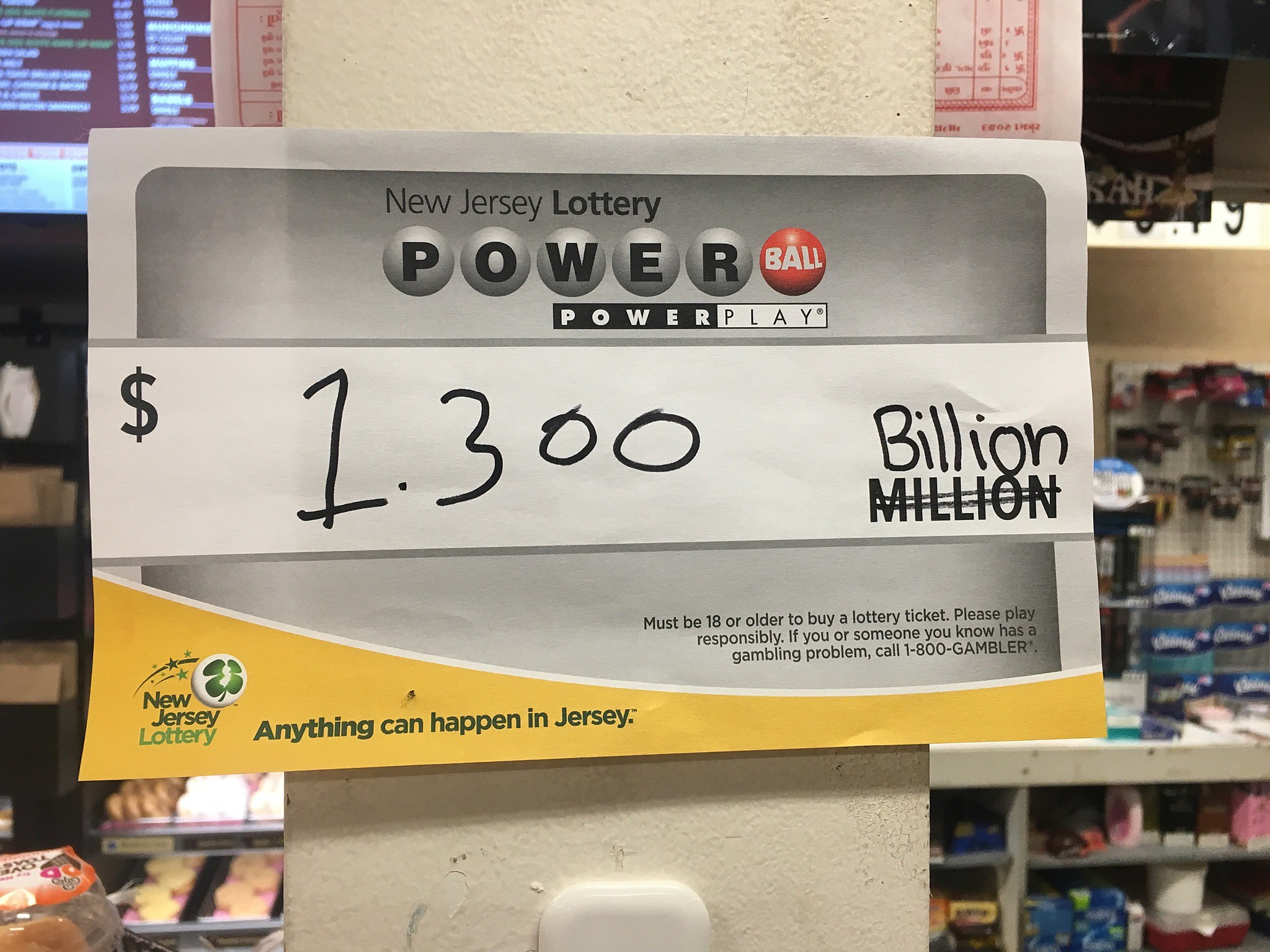 Powerball jackpot up to $1.5 billion
