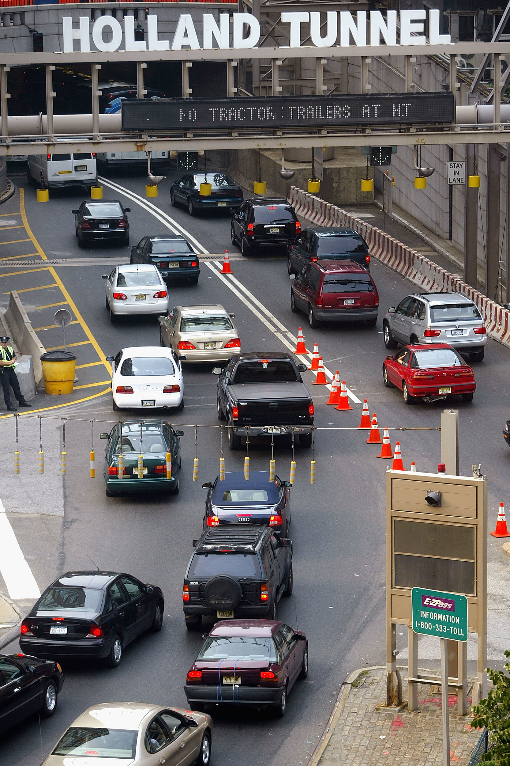 A commute that normally would take an hour could turn into a three-hour crawl Monday. (Photo credit: Getty Images)