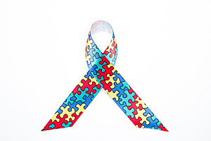 Autism awareness ribbon (Wavebreakmedia Ltd, ThinkStock)