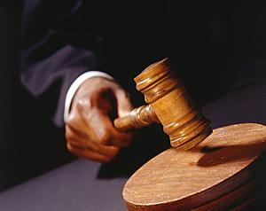 Judge's gavel (Photodisc, ThinkStock)