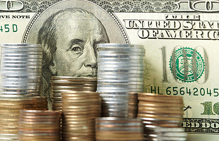 Dollars and cents. (denisvrublevski, ThinkStock)