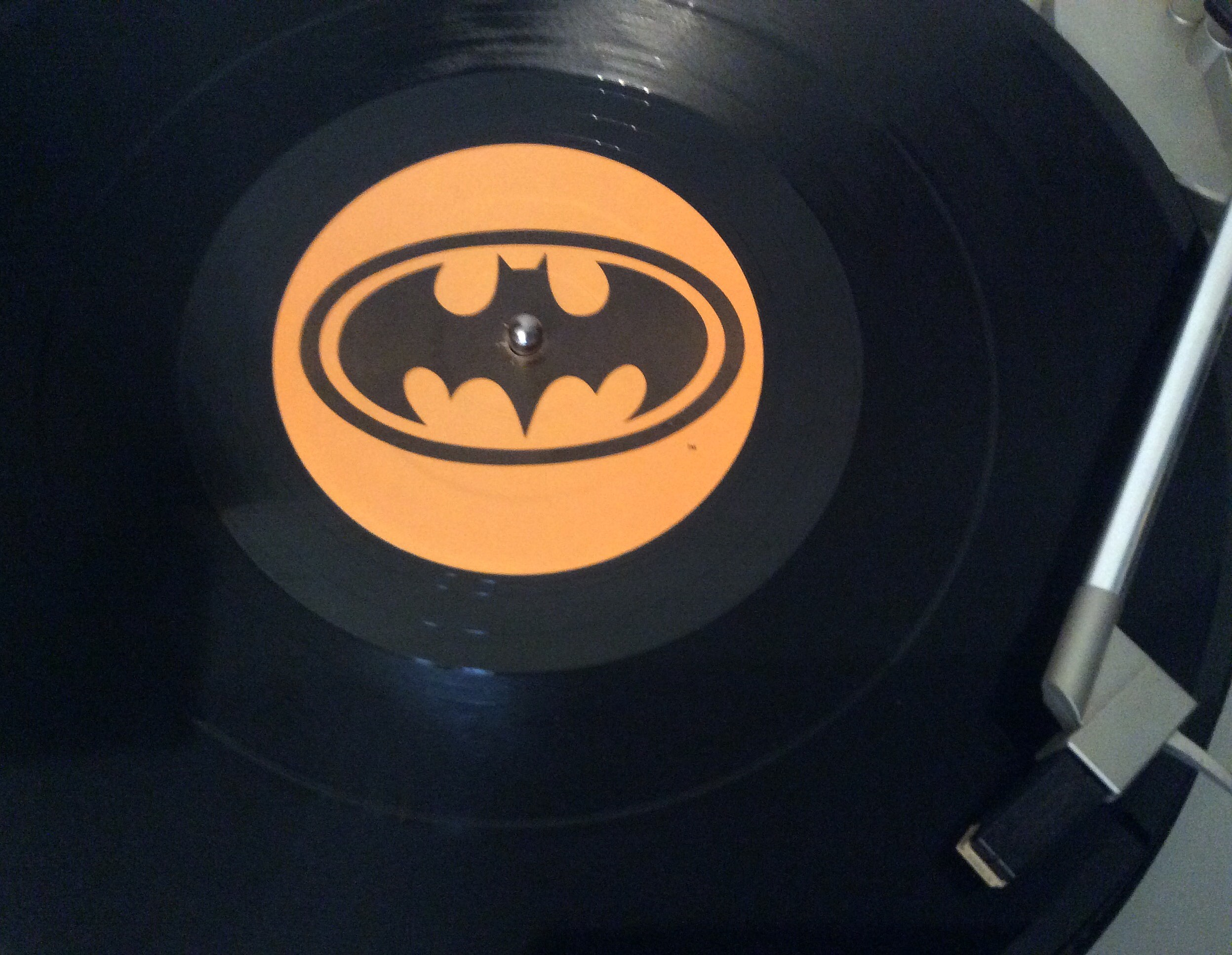 Guess the (1989) #1 song on my turntable... (Craig Allen photo).