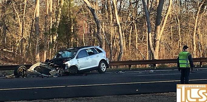 All lanes of parkway close in ocean county for fatal crash - Garden state parkway gas stations ...