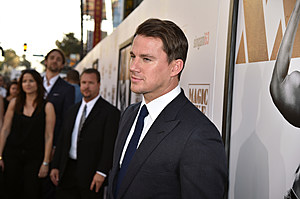 HOLLYWOOD, CA - JUNE 25: Actor Channing Tatum attends the premiere of Warner Bros. Pictures' 'Magic Mike XXL' at TCL Chinese Theatre IMAX on June 25, 2015 in Hollywood, California. (Photo by Kevin Winter/Getty Images)