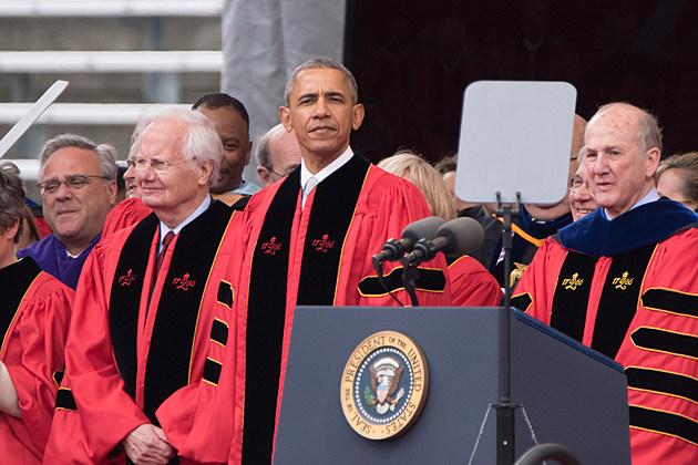 President Obama at Rutgers Commencement 2016