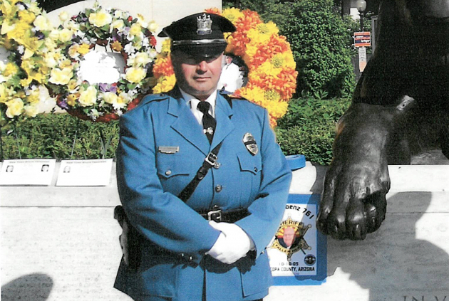 (Lt. Joseph Franklin succumbed to injuries he suffered in a bicycle accident during the 20th Annual Police Unity Tour Monday. (Credit: Roxbury Police Department)