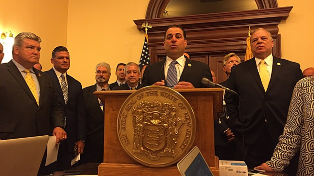 Sen. Paul Sarlo discusses proposed tax changes, including a hike in the gas tax. (Michael Symons/Townsquare Media NJ)