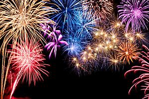 Gorgeous fireworks display