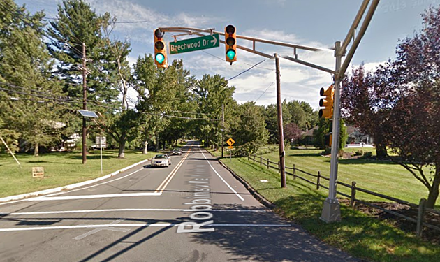 Robbinsville intersection (Google Maps)
