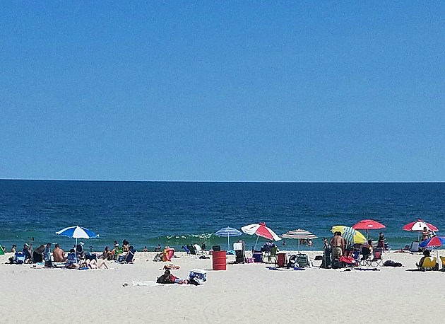Seaside Heights beach (Victoria Harlan, Townsquare Media NJ)