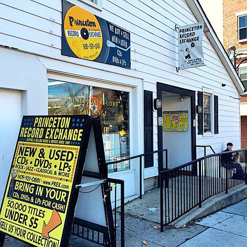 Princeton Record Exchange is at 20 South Tulane Street in Princeton (Courtesy of Jon Lambert)
