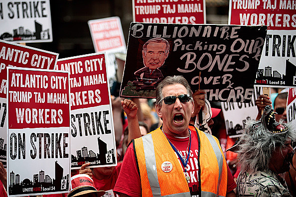 Pickets, but no deal, on tap in Trump Taj Mahal casino strike