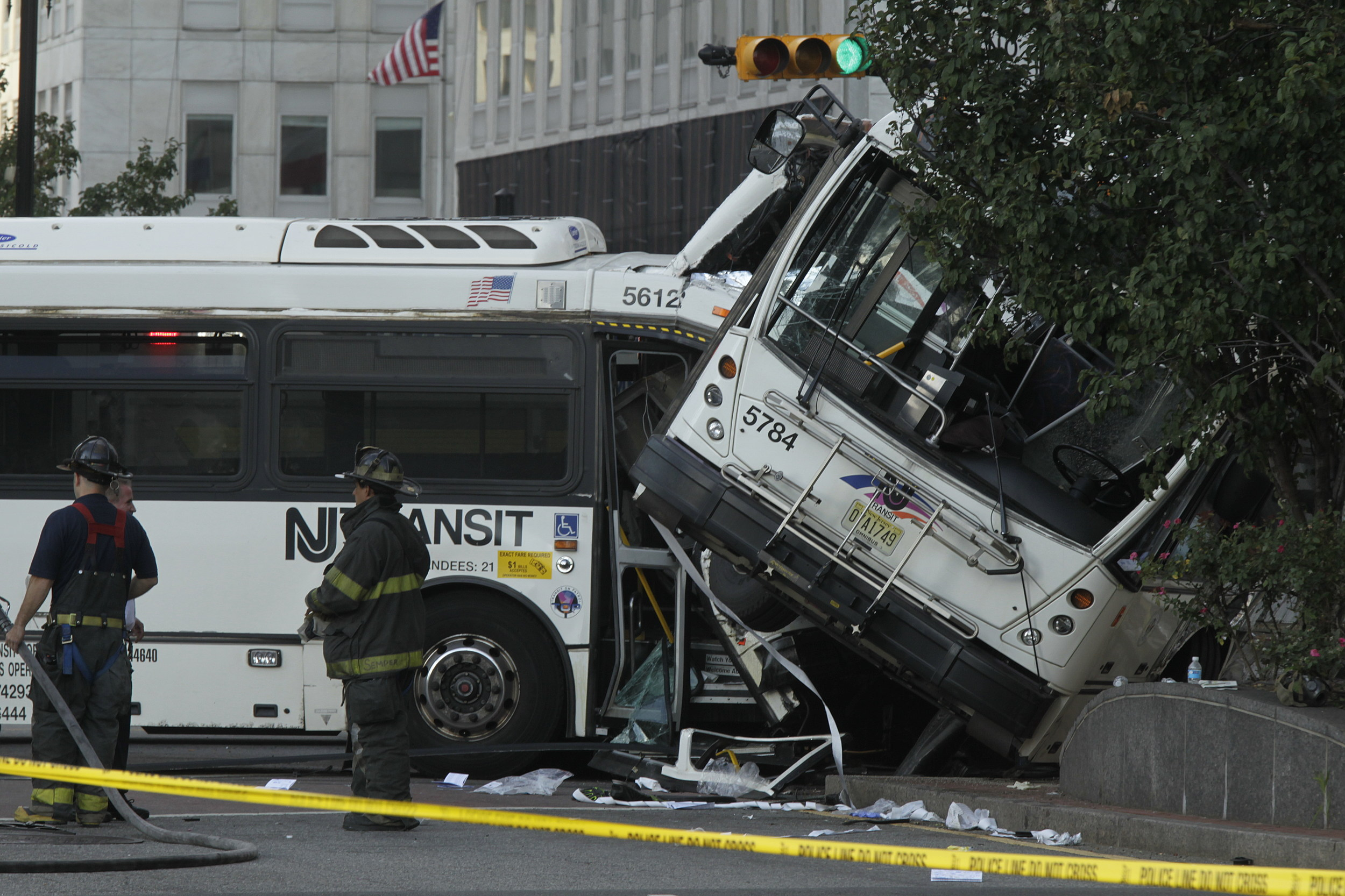 Transit Buses Crash in New Jersey; 1 Dead, 19 Injured