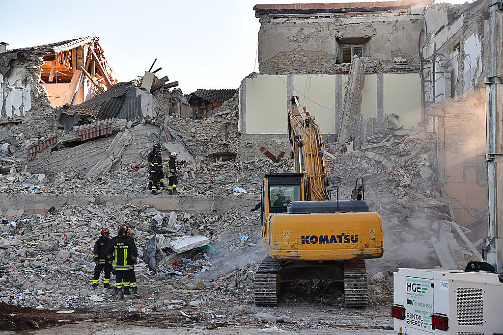 Central Italy natural disaster: at least 38 dead in 6.2 quake
