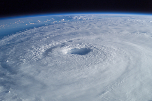 Hurricane Isabel was the deadliest hurricane in the 2003 Atlantic hurricane season.  (NASA)