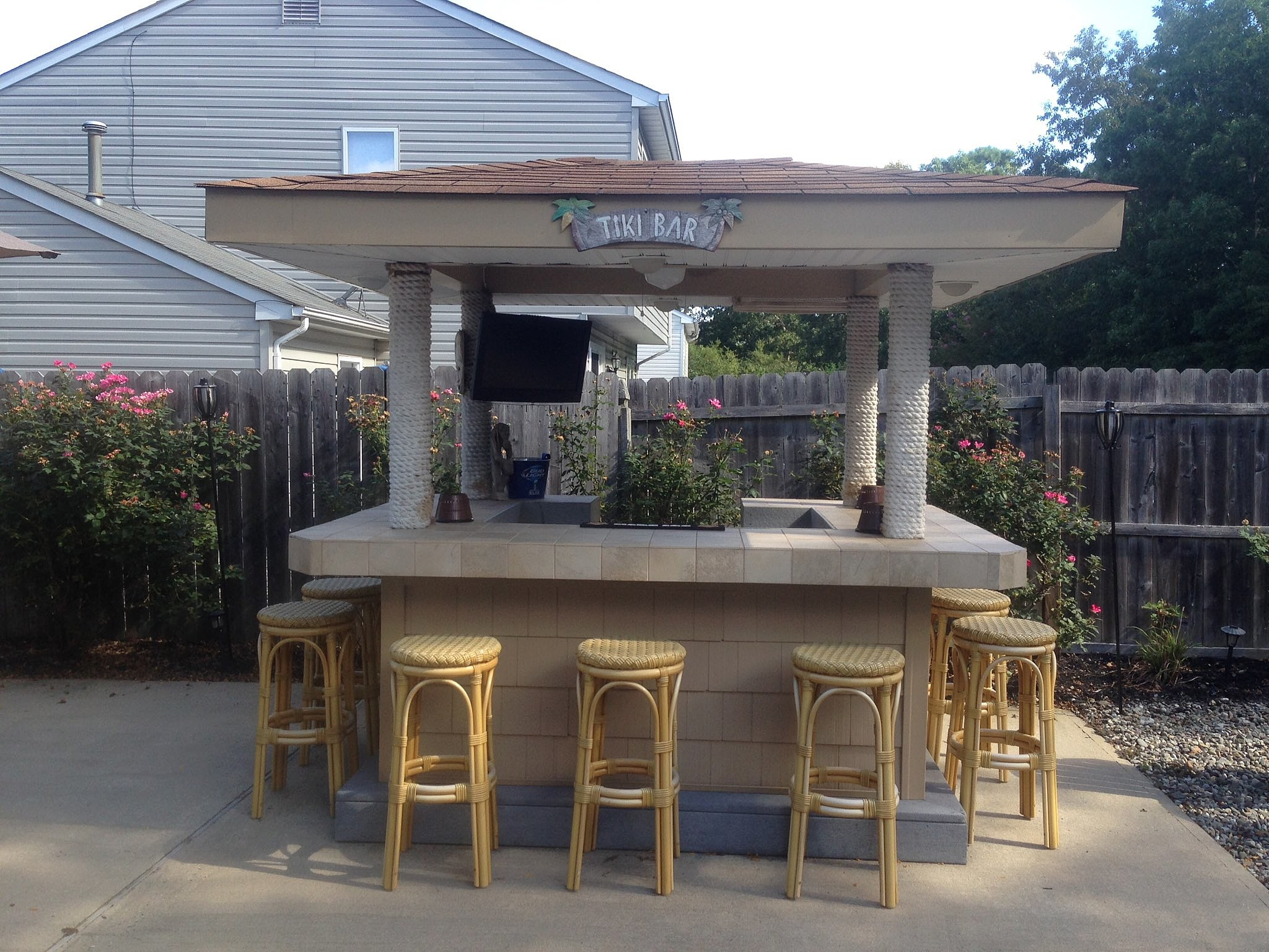 backyard bars in nj if you build it they will come
