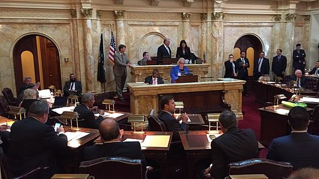 The Senate holds a voting session on Oct. 5, 2016. (Michael Symons/Townsquare Media NJ)
