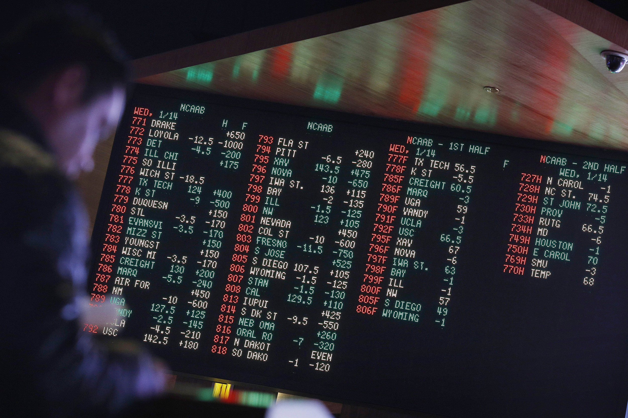 Nearly half in US support legalized sports betting