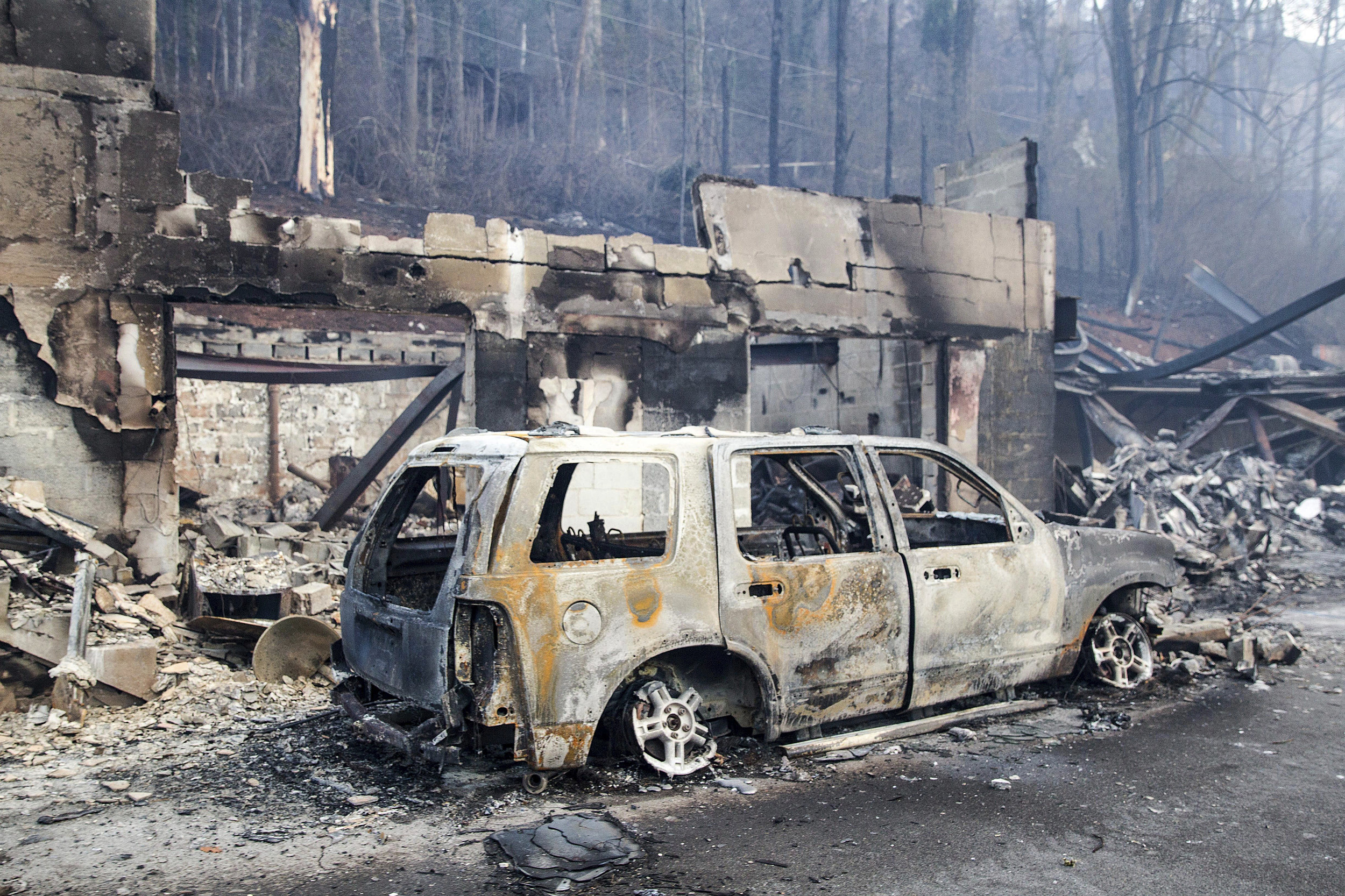 Former Woodstock couple confirmed dead in Tennessee wildfire