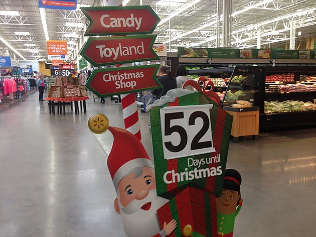 Walmart Christmas display in East Brunswick (Dino Flammia, Townsquare Media NJ)
