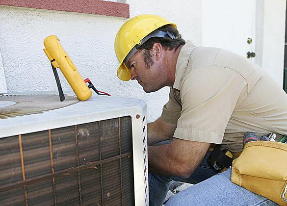 Air Conditioning Repairman Compressor