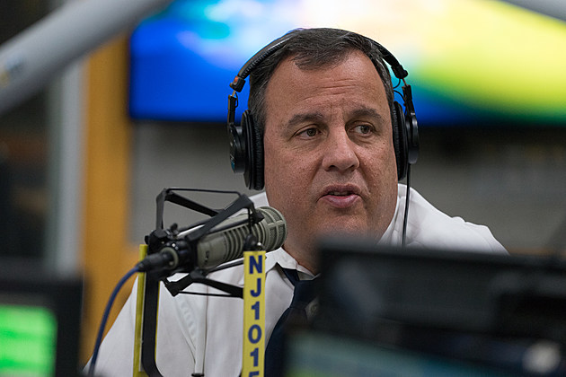 """Gov. Chris Christie joined New Jersey 101.5's Eric Scott Monday. Feb. 13 for """"Ask the Governor"""" (Louis C. Hochman / Townsquare Media)"""